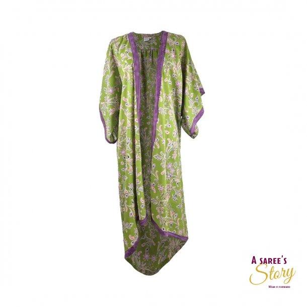 Lime / lyserød / violet Doyenne Kimono OneSize - Doyenne